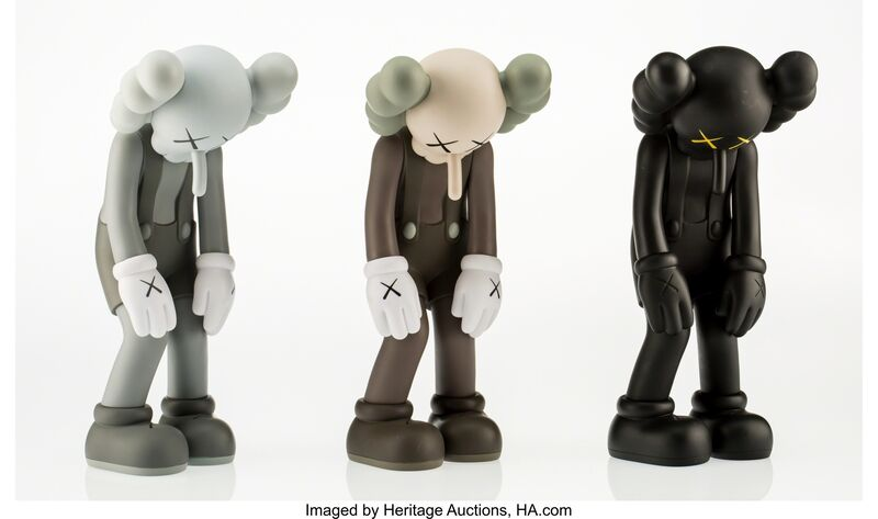 KAWS, 'Small Lie (three works)', 2017, Other, Painted cast vinyl, Heritage Auctions