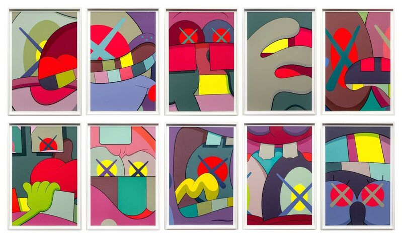 KAWS, 'Ups and Downs', 2013, Print, Silkscreen print on Saunders Waterford 410gm High White paper, Remes Advisory