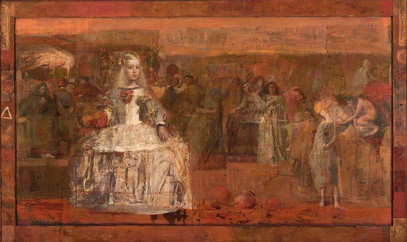 Mersad Berber, 'Hommage à Velázquez', 1999, Painting, Pera Museum