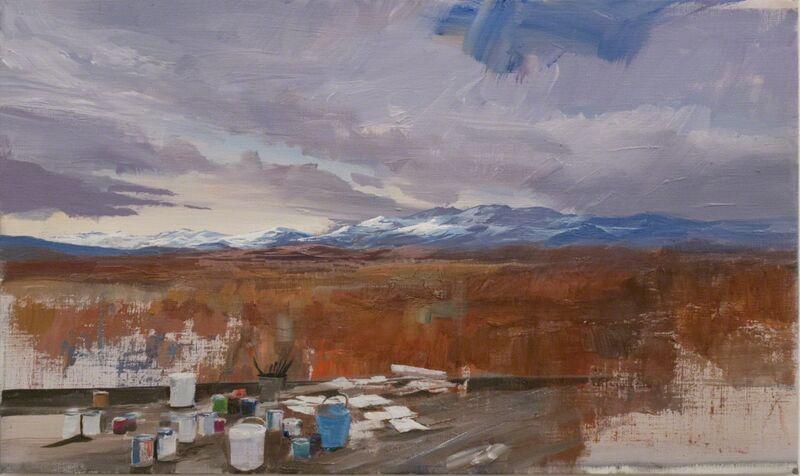 Adam Cvijanovic, 'Studio Landscape', 2012, Painting, Oil on canvas, Postmasters Gallery