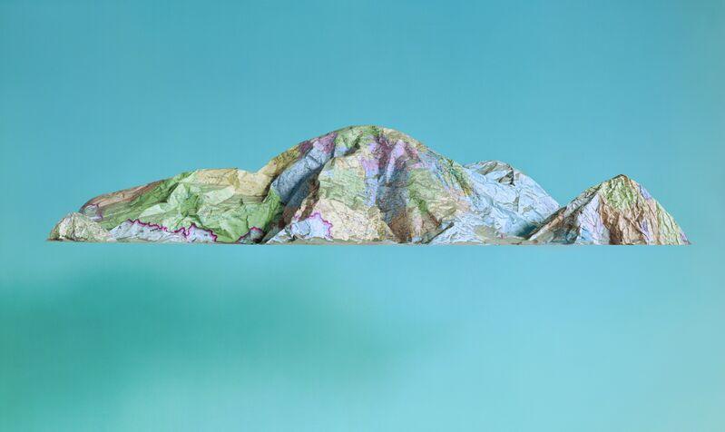 Ji Zhou, 'The Map No. 7', 2015, Other, Archival Pigment Print, Eli Klein Gallery