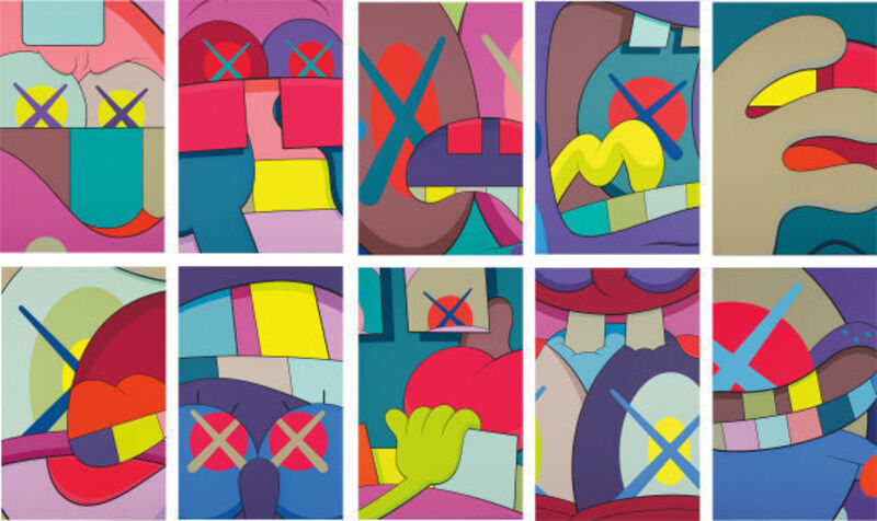 KAWS, 'Ups and Downs', 2013, Print, Screenprint in color on paper, ArtLife Gallery