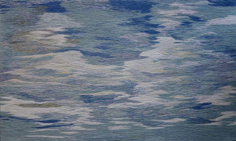 Raffy T. Napay, 'Sky', 2014, Mixed Media, Multimedia, wool, fabric, cotton thread, Artesan Gallery + Studio