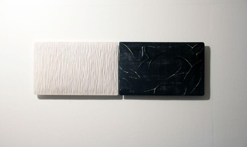 Masayuki Tsubota, 'the wall of self_gsnhf1', 2015, Sculpture, Gesso, pigment, glue on basswood, Gallery LVS