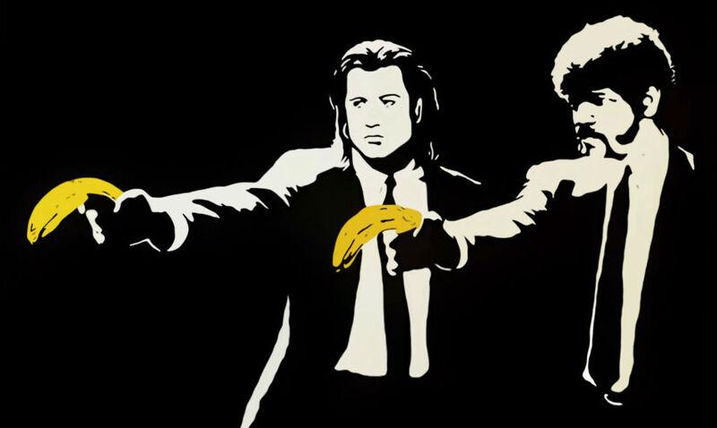 Banksy, 'Pulp Fiction', 2004, Print, Screenprint on paper, Taglialatella Galleries