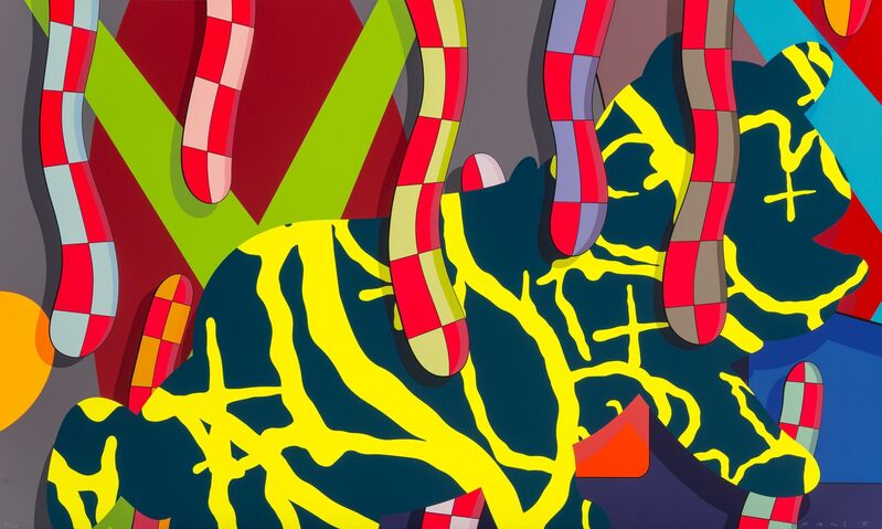 KAWS, 'Far Far Down', 2018, Print, Screenprint in colors on wove paper, Heritage Auctions