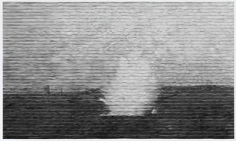 Christiane Baumgartner, 'Kleines Seestück III', 2011, Print, Woodcut on ShiragikuJapanese paper, Cristea Roberts Gallery
