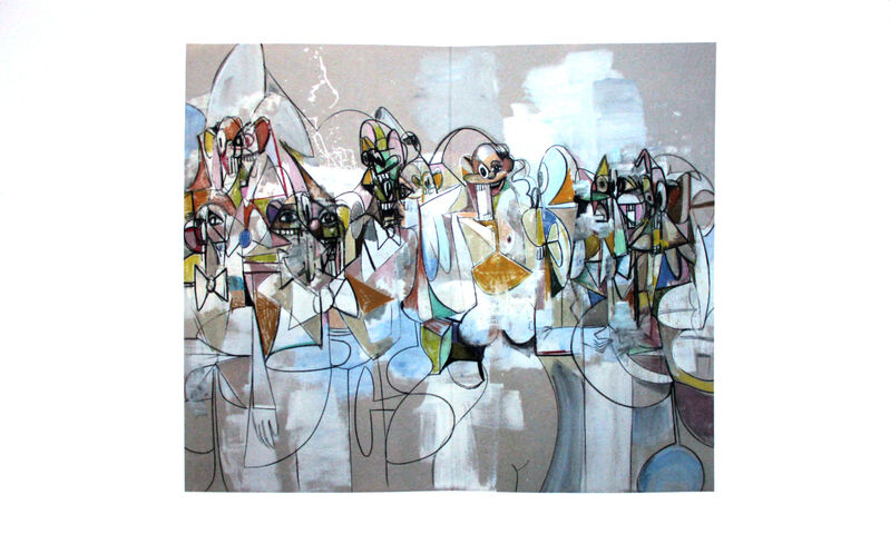 George Condo, 'Untitled', 2011, Posters, Offset lithograph, EHC Fine Art Gallery Auction