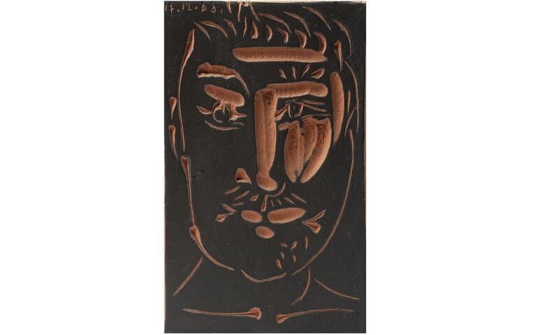 Pablo Picasso, 'Visage de Homme (Man's Face)', 1966, Sculpture, Terracotta, Il Ponte