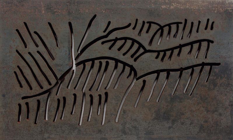 Arturo Herrera, 'Brinco', 2007, Sculpture, Untreated water cut steel, ClampArt