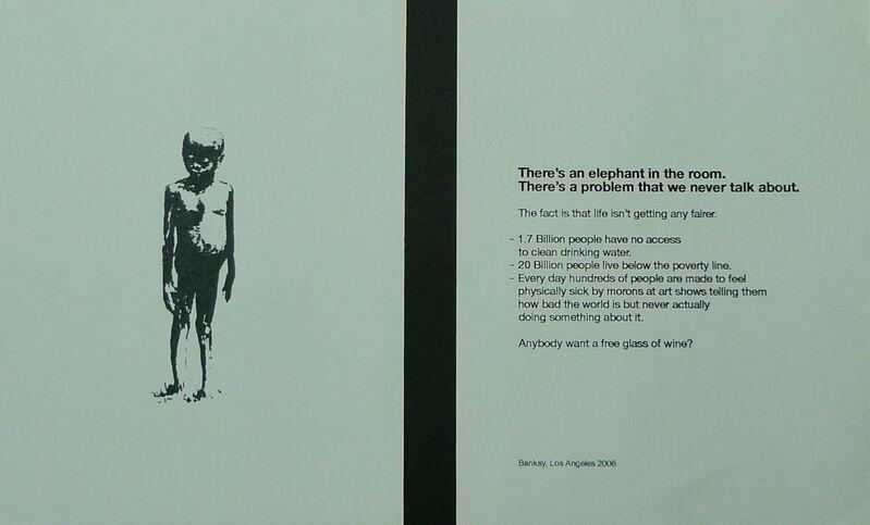 Banksy, 'Barely Legal', 2006, Ephemera or Merchandise, Paper, Bengtsson Fine Art