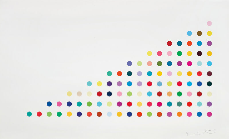 Damien Hirst, 'Phendimetrazine (Controlled substances)', 2011, Print, Screenprint in colours with glazes on Somerset Tub Sized paper, Lougher Contemporary