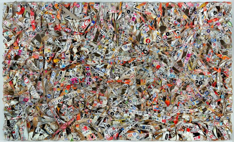 Choy Chun Wei, 'WEB-GO', 2014, Mixed Media, Mixed media on canvas, Wei-Ling Gallery
