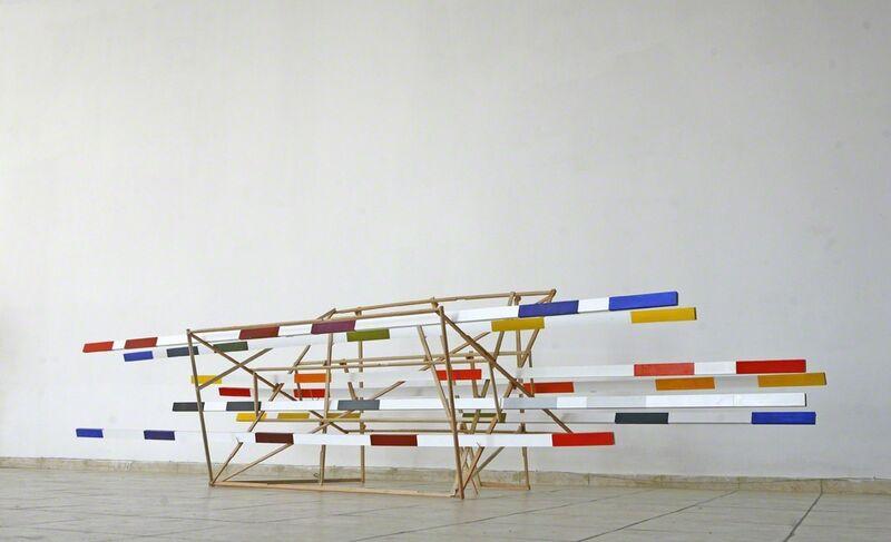 Osvaldo Romberg, 'Goethe', 2012, Sculpture, Acrylic and wood, Contemporary by Golconda
