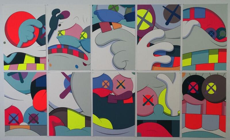 KAWS, 'Blame Game (portfolio of ten prints)', 2014, Print, Screen print on Saunders Waterford 410gm High White Paper, Remes Advisory