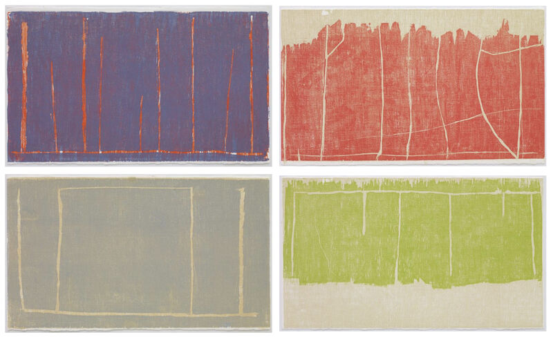 Christopher Le Brun, 'Ideas of March II', 2019, Print, Series of 4 woodcuts, Paragon