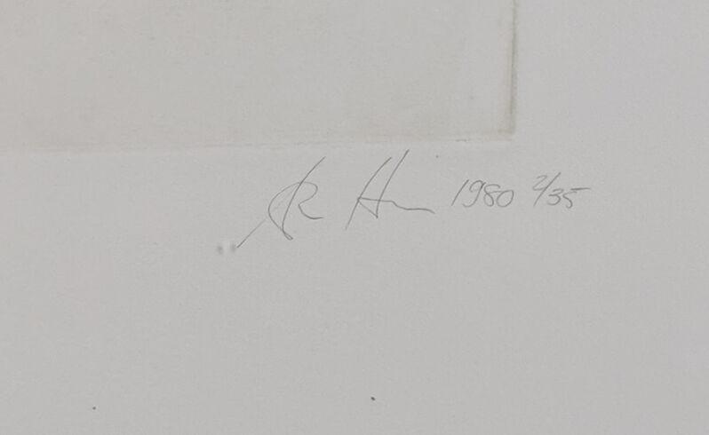 Alan Herman, 'Interior walls (2 works)', 1980, Print, Aquatint, Capsule Gallery Auction