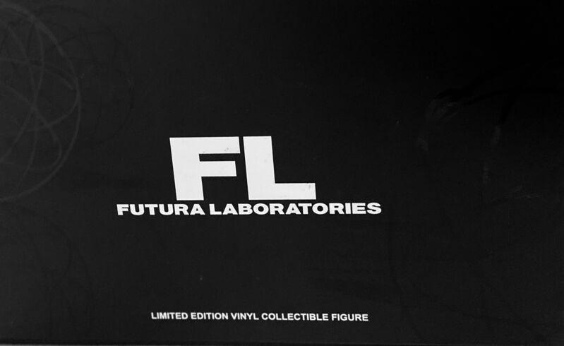 Futura, 'Futura 'Johnny' vinyl art toy (Futura Mindstyle) ', 2019, Sculpture, Painted Cast Vinyl, Lot 180