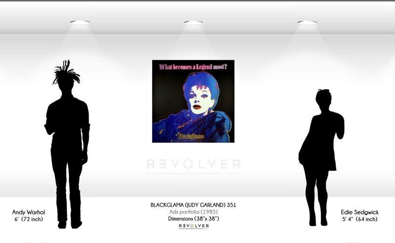 Andy Warhol, 'Blackglama (FS II.351) ', 1985, Print, Screenprint on Lenox Museum Board., Revolver Gallery