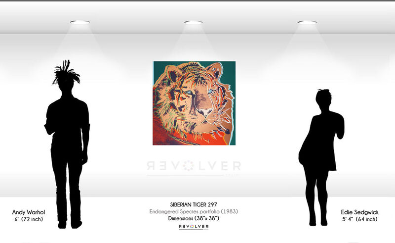 Andy Warhol, 'Siberian Tiger (FS II.297)', 1983, Print, Screenprint on Lenox Museum Board., Revolver Gallery