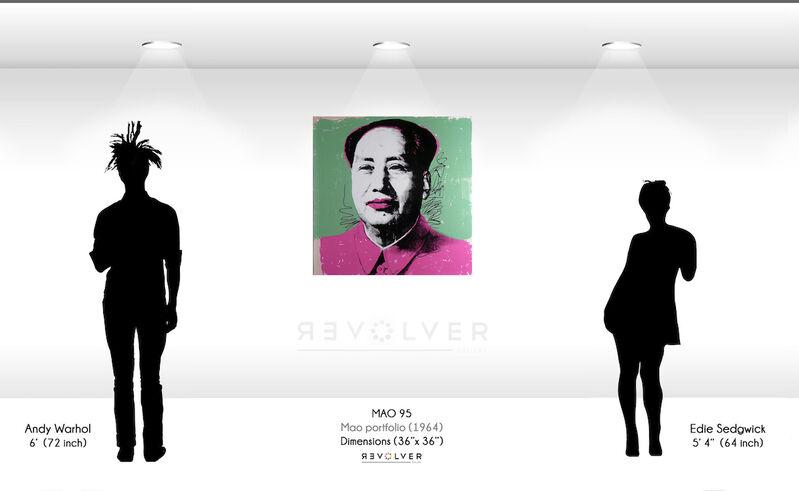 Andy Warhol, 'Mao (FS II.95)', 1972, Print, Screenprint on Beckett High White Paper, Revolver Gallery