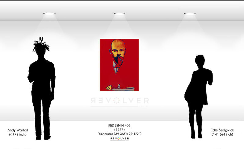 Andy Warhol, 'Red Lenin (FS II.403) ', 1987, Print, Screenprint on Arches 88 Paper, Revolver Gallery