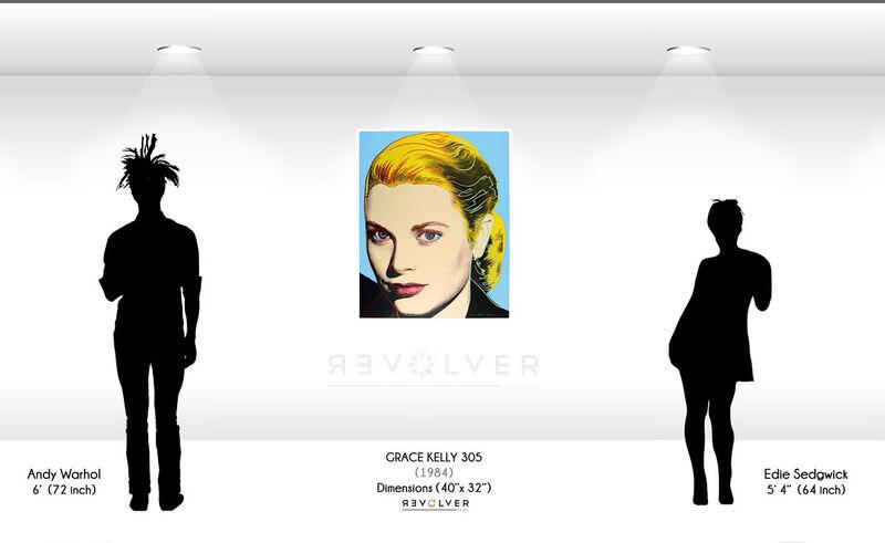 Andy Warhol, 'Grace Kelly (FS II.305) ', 1984, Print, Screenprint on Lenox Museum Board, Revolver Gallery