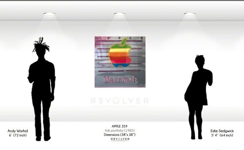 Andy Warhol, 'Apple (Trial Proof) (FS II.359)', 1985, Print, Screenprint on Lenox Museum Board, Revolver Gallery