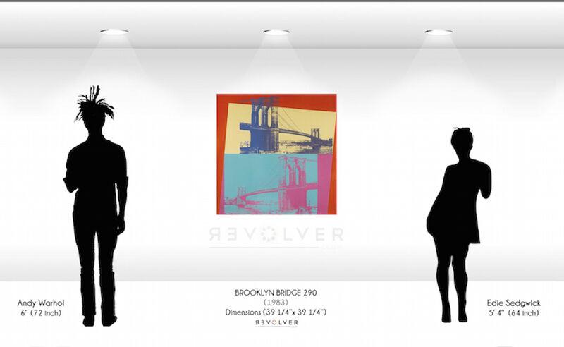 Andy Warhol, 'Brooklyn Bridge (FS II.290) ', 1983, Print, Screenprint on Lenox Museum Board., Revolver Gallery