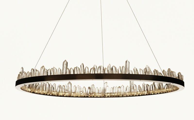 Christopher Boots, 'Prometheus I', 2012, Design/Decorative Art, Quartz Crystal, LED, Steel, The NWBLK