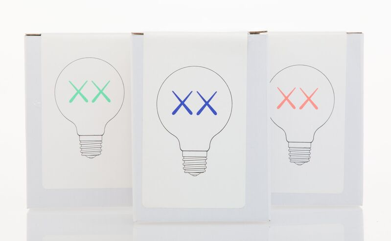 KAWS, 'Light Bulb Set for The Standard (Red, Purple, and Green)', 2011, Other, Light Bulb, Heritage Auctions