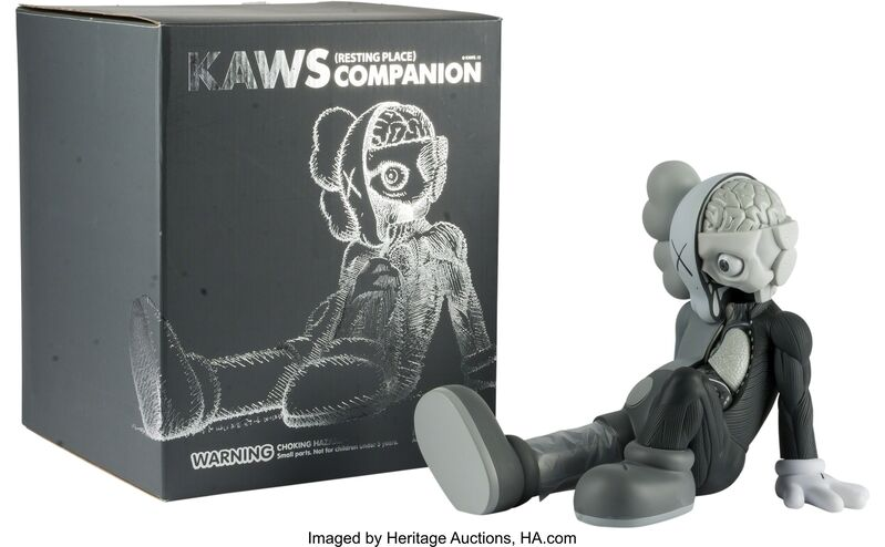 KAWS, 'Companion (Resting Place) (Grey)', 2013, Other, Heritage Auctions