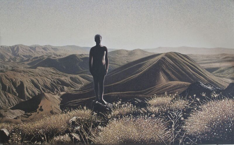 Mahmut Celayir, 'Gird Pil', 2015, Painting, Oil on Canvas, C.A.M Galeri