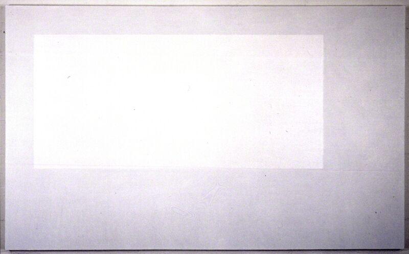 Yuko Shiraishi, 'Emerging White Square', 2000, Painting, Oil on canvas, Annely Juda Fine Art