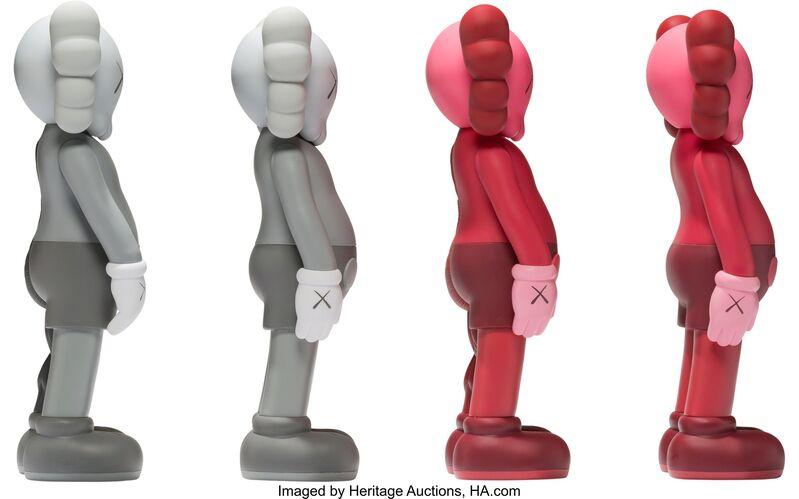 KAWS, 'Companion, set of eight', 2016, Sculpture, Painted cast vinyl, Heritage Auctions