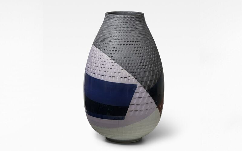 Hella Jongerius, 'Diamond Vase - Night', 2019, Design/Decorative Art, Porcelain vase, Galerie kreo