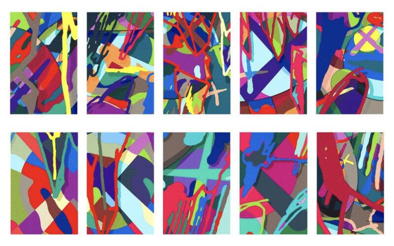 KAWS, 'Tension', 2019, Print, Set of ten screenprints in colors, Upsilon Gallery