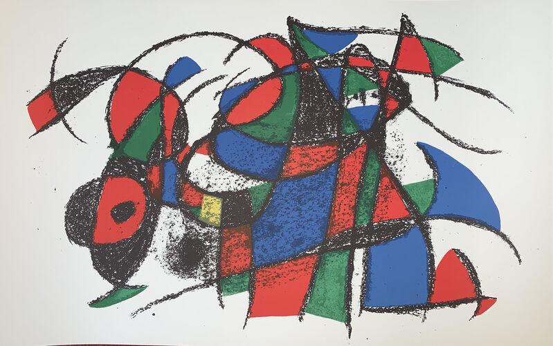 Joan Miró, 'Originale Non Firmata III', 1975, Print, Lithograph, Viva la Vida Art Gallery