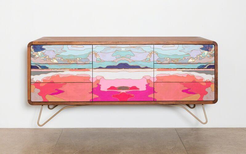 Jorge Pardo, 'Meretricious Untitled 2', 2015, Design/Decorative Art, MDF, tzalam wood, acrylic paint, laca, coloured steel, David Gill Gallery