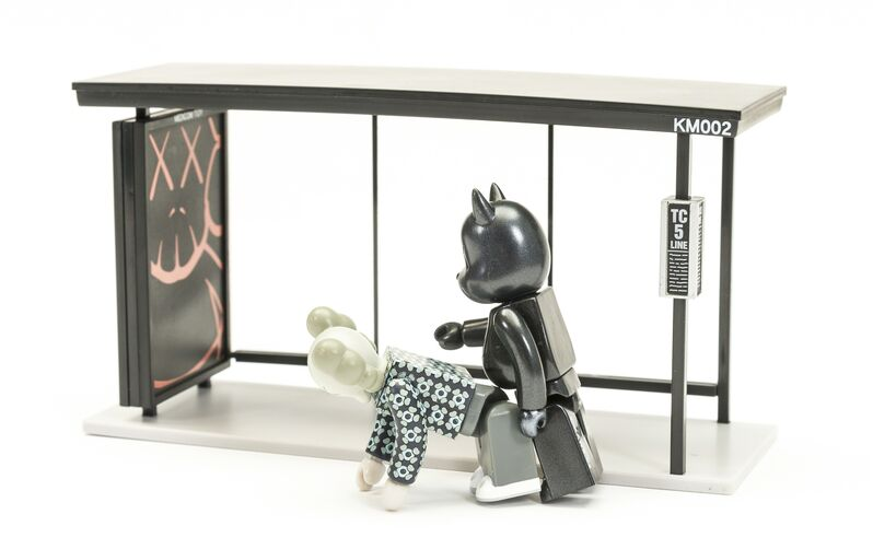 KAWS, 'Kubrick Bus Stop (Volumes 1 & 2)', 2002, Other, The two complete sets of painted vinyl multiples, Forum Auctions