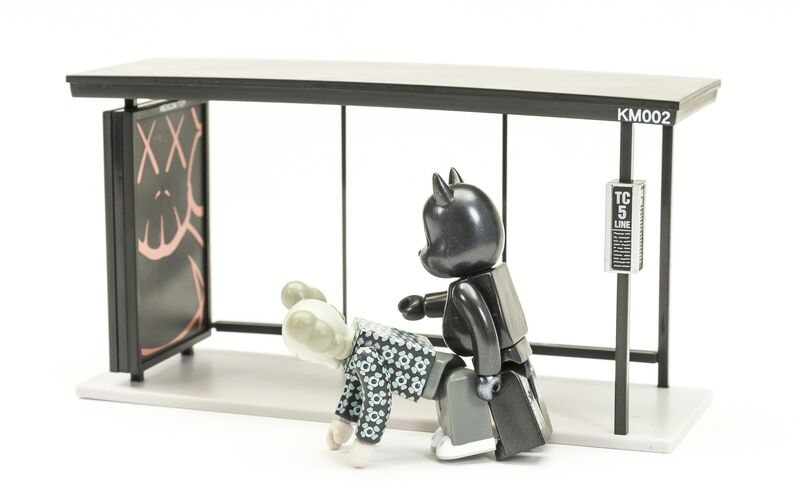 KAWS, 'Kubrick Bus Stop (Volumes 1 & 2)', 2002, Sculpture, The two complete sets of painted vinyl multiples, Forum Auctions