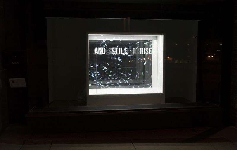 Bunny Burson, 'And Still I Rise', 2017, Sculpture, Confetti shards and mixed media, Bruno David Gallery