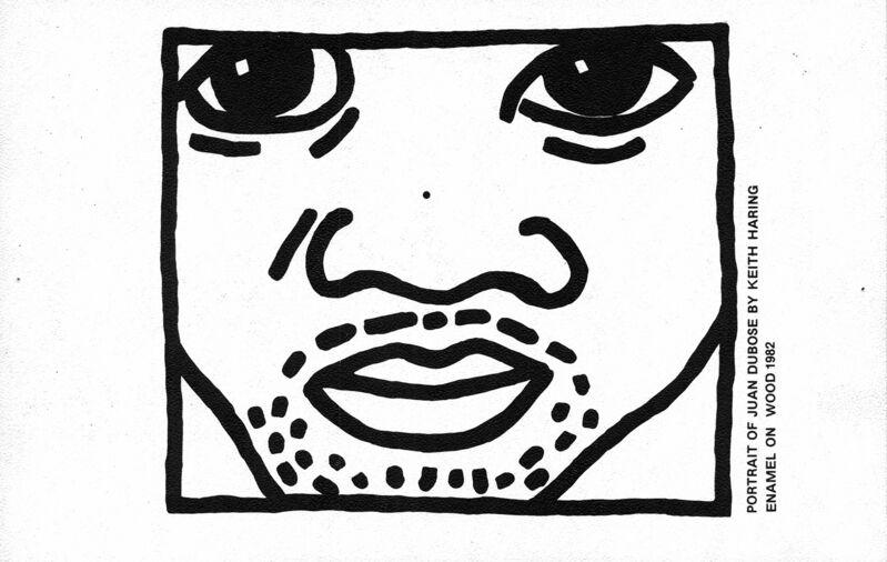 Keith Haring, 'Keith Haring Juan Dubose Area nightclub ', ca. 1983, Ephemera or Merchandise, Offset lithograph, Lot 180