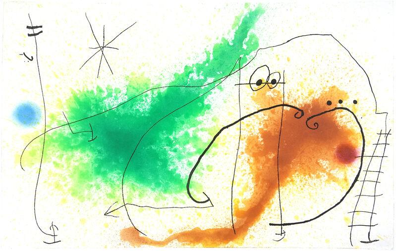 Joan Miró, 'Partie de Campagne IV', 1967, Print, Color etching and aquatint on Chiffon de Mandeure, Davidson Galleries