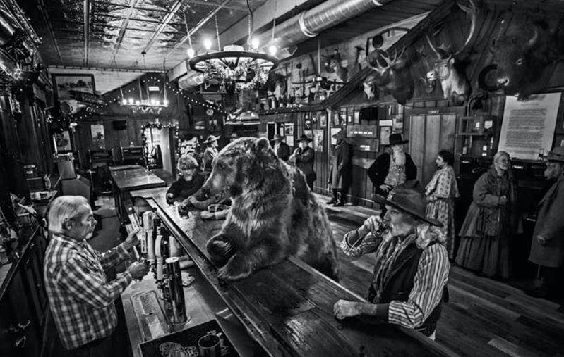 David Yarrow, 'A Bear Walks into a Bar', 2016, Photography, Archival pigment print, Artsy x Capsule Auctions
