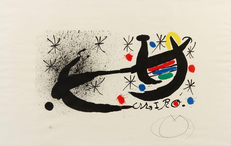 Joan Miró, 'Variant of 'Joan Miró and Katalonien'', 1969, Print, Lithograph, Hindman