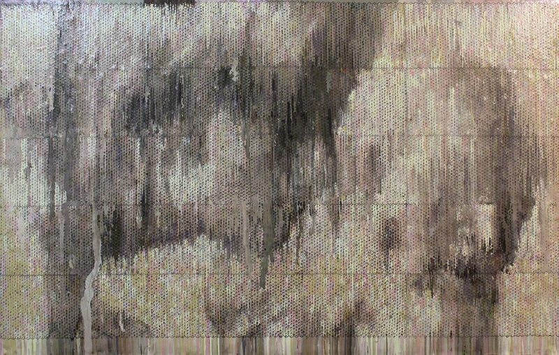 Bradley Hart, 'Raphael Drawing (Impression)', 2014, Painting, Acrylic, wood, Anna Zorina Gallery
