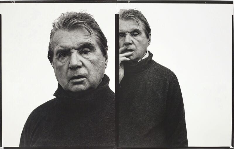 Richard Avedon, 'Francis Bacon, artist, Paris, April 11, 1979', 1979, Photography, Gelatin silver print, Phillips