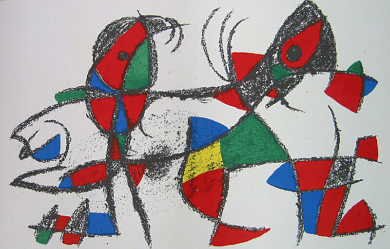 Joan Miró, 'Untitled', 1953, Print, Lithograph, Galerie d'Orsay