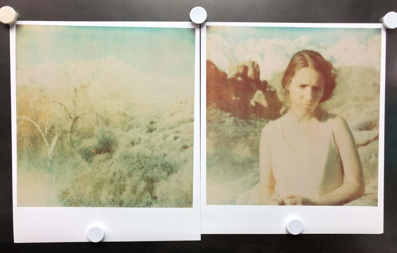 Stefanie Schneider, 'Wind Swept (Wastelands), diptych', 2003, Photography, 2 Analog C-Prints, hand-printed by the artist on Fuji Crystal Archive Paper, based on 2 original Polaroids, not mounted, Instantdreams